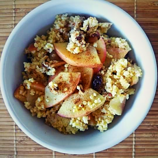 apple-and-cinnamon-millet-porridge-london-nutritionist-milena-kaler